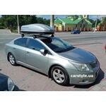 [Багажник Thule-754 WingBar Evo и бокс Terra Drive-440 (серый) на Toyota Avensis] - [FU TY6-14]