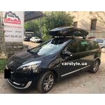 [Багажник Thule Edge Clamp 7205 Black и бокс Thule Motion XT XL Black на Renault Grand Scenic] - [FU RE6-29]