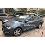 [Багажник Thule Edge Clamp 7205 Black на Skoda Octavia A7] - [FU SK6-31]