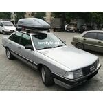 [Багажник Amos Dromader Wind Plus і бокс Terra Drive-440 (сірий) на Audi 100] - [FU AU4-14]