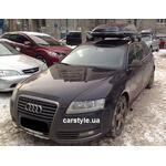 [Багажник Whispbar FlushBar и бокс Hapro Carver 6.5 Black на Audi A6] - [FU AU2-20]