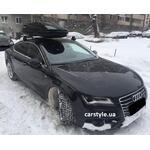 [Багажник Thule-754 Stream і бокс Thule Touring 600 Black на Audi A7] - [FU AU4-10]