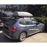 [Багажник Aguri Runner і бокс Terra Drive-480 (сірий) на BMW X1] - [FU BMW3-11]