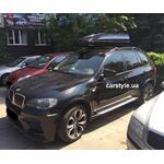 [Багажник Aguri Prestige Black и бокс Junior Pre 460 Black на BMW X5] - [FU BMW3-12]