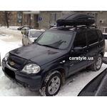 [Багажник Terra R-Fix Aero и бокс Terra Drive-440 (черный) на Chevrolet Niva] - [FU CH3-2]