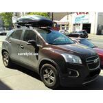 [Багажник CarStyle Straps Aero и бокс WTR-480 (черный) на Chevrolet Tracker] - [FU CH2-5]