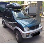 [Багажник Amos Dromader Wind Plus і бокс Terra Drive-440 (чорний) на Daihatsu Terios] - [FU DAI3-2]