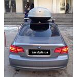 [Багажник Thule-753 Stream и бокс Terra Drive-440 (серый) на BMW 3 series] - [FU BMW2-21]