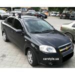 [Багажник Thule-754 Aero Black на Chevrolet Aveo] - [FU CH4-11]