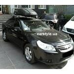 [Багажник Thule-754 Aero и бокс Terra Drive-440 (черный) на Chevrolet Epica] - [FU CH2-4]