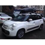 [Багажник Thule-754 Stream і бокс Terra Drive-440 (чорний) на Fiat 500L] - [FU FI3-1]