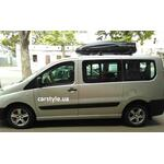 [Багажник Kenguru Combi Stl і бокс Terra Drive-480 (чорний) на Fiat Scudo] - [FU FI3-4]