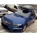 [Багажник Thule-754 Stream и бокс Terra Drive-440 (серый) на Honda Accord] - [FU HO3-6]