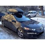 [Багажник Thule-754 Stream и бокс Terra Drive-440 (черный) на Honda Accord] - [FU HO2-20]