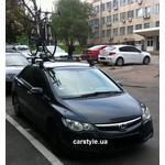 [Багажник Thule-750 SquareBar і кріплення Thule ProRide 591 на Honda Civic] - [FU HO3-20]