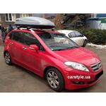 [Багажник CarStyle Rails Stream і бокс Terra Drive-480 (сірий) на Honda FR-V] - [FU HO3-4]