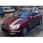 [Багажник Amos Dromader Wind Plus на Hyundai Accent] - [FU HY2-31]