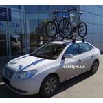 [Багажник Thule-754 WingBar и крепление Thule ProRide 591 на Hyundai Elantra] - [FU HY3-15]