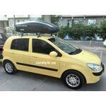 [Багажник GeV Discovery і бокс Terra Drive-440 (чорний) на Hyundai Getz] - [FU HY3-23]