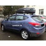 [Багажник Aguri Runner и бокс Terra Drive-440 (черный) на Hyundai ix35] - [FU HY2-7]
