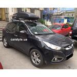 [Багажник Thule-753 Stream и бокс Terra Drive-480 (черный) на Hyundai ix35] - [FU HY3-21]