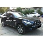 [Багажник Aguri Prestige Black і кріплення Aguri Acuda Black на Infiniti FX35] - [FU IN2-2]