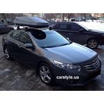 [Багажник Thule-754 Stream и бокс Thule Touring 600 на Honda Accord] - [FU HO3-2]