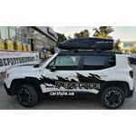 [Багажник Terra R-Fix Wing и бокс Terra Drive-480 (черный) на Jeep Renegade] - [FU JP4-7]