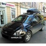 [Багажник Menabo Dozer и бокс Terra Drive-440 (черный) на Kia Carnival] - [FU KI3-47]