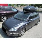 [Багажник Kenguru Combi Stl Plus и бокс Terra Drive-440 (черный) на Kia Ceed] - [FU KI3-40]