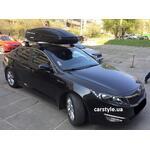 [Багажник Thule-754 Stream і бокс Terra Drive-480 (чорний) на Kia Optima] - [FU KI4-7]
