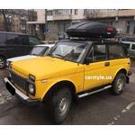 [Багажник Kenguru Uni Stl і бокс Terra Drive-440 (чорний) на Lada Niva] - [FU LAD4-2]