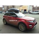 [Багажник Thule WingBar Edge 958 і бокс Terra Drive-440 (чорний) на Land Rover Evoque] - [FU LR2-6]