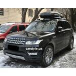 [Багажник Thule-753 Stream и бокс Terra Drive-480 (черный) на Land Rover Sport] - [FU LR2-2]