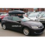 [Багажник Thule-750 AeroBar і бокс Terra Drive-480 (чорний) на Lexus CT 200] - [FU LX2-9]
