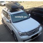 [Багажник Thule WingBar Edge 959 и бокс Terra Drive-480 (черный) на Lexus GX 460] - [FU LX2-5]