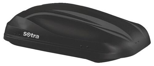 [Автобокс на дах авто Sotra Altro 370 Black Matte] - [Sot-AL-370 BM]