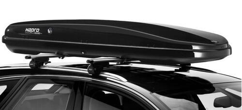 [Автобокс на дах авто Hapro Nordic 10.8 Brilliant Black] - [Hp Nord-10.8 BB]