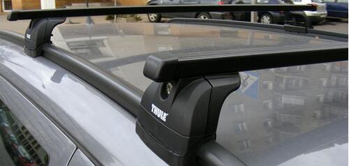 [Багажник на рейлинг Thule 753 IR SquareBar Evo] - [TH 753-74-IR]