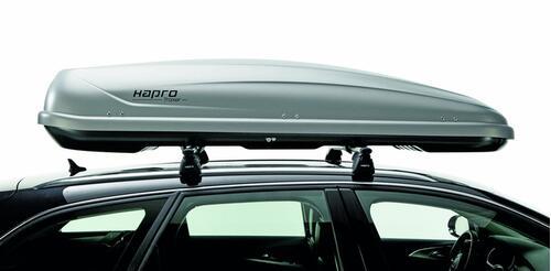 [Автобокс на дах авто Hapro Traxer 8.6 Silver Grey] - [Hp Tr-86 SG]