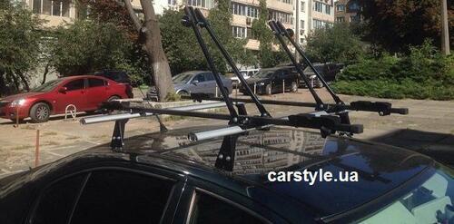 [Багажник в штатные места Kenguru Krab (Polo) Aero] - [KE KR-FP-AE]