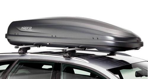 [Автобокс на дах авто Hapro Traxer 8.6 Titanium] - [Hp Tr-86 TI]