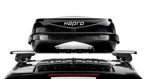 [Бокс Hapro Zenith 6.6 чорний глянець 191х80х37 см (двосторонній)] - [Hp Zn-66 BB]