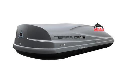 [Автобокс на крышу авто Terra Drive 480 серый двухсторонний] - [TD-480G-DS]