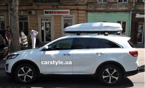 [Автобокс на дах авто Hapro Traxer 8.6 Pure White] - [Hp Tr-86 PW]
