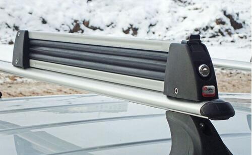 [Крепление Amos Ski Lock-5 для 5 пар лыж/2 сноуборда серое] - [AM SL-5-Al]