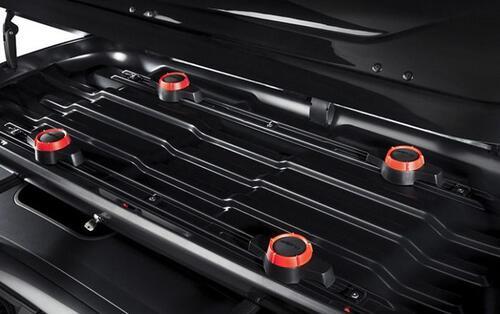 [Бокс Hapro Cruiser 10.8 чорний глянець 226х94х43 см (двосторонній)] - [Hp Cr-10.8 BB]