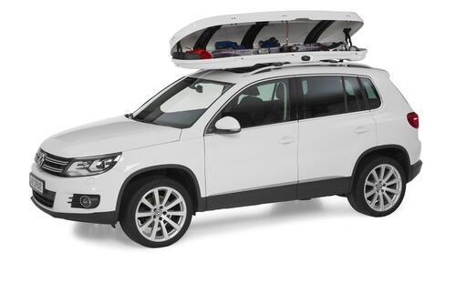 [Автобокс на дах авто Whispbar WB754 White] - [WH WB754W]