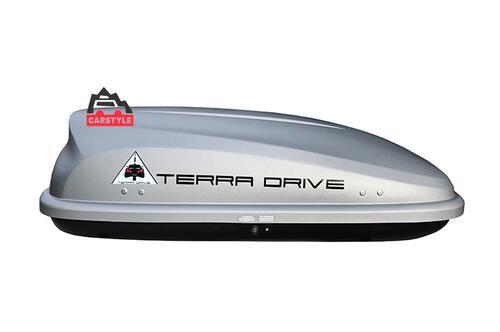 [Автобокс на дах авто Terra Drive 320 сірий правосторонній] - [TD-320G-R]
