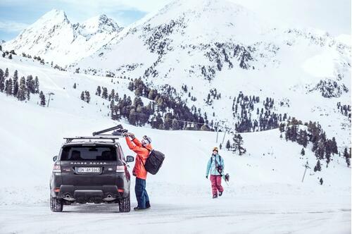[Кріплення Thule SnowPack Xtender 7325 для 5 пар лиж/2 сноуборда] - [TH 7325]